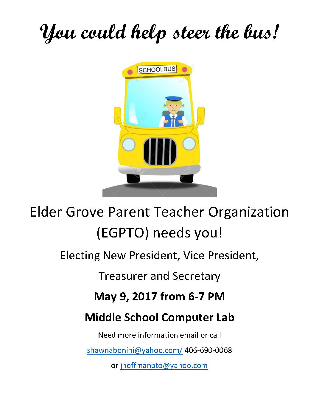 PTO Election Flyer
